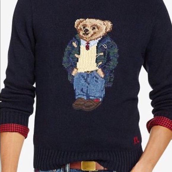 Preppy Tall Lauren Polo Nwt Sweater Bigamp; Ralph Bear yfYbv76g